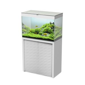 Aquarium Emotions Nature One 80 Blanc avec Meuble - Ciano