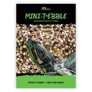 Gravier pour aquarium tortue et axolotl 3/6 mm Mini Pebble 4Kg - Terratlantis