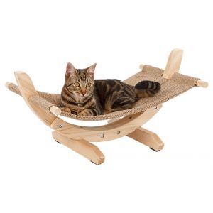 Hamac-Siesta-2.0-Marron-pour-Chat