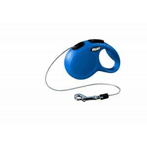 Laisse-Flexi-Chat-Cordon-XS-Bleu-3-Mètres