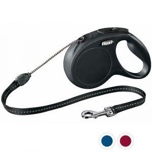 Laisse-Flexi-Chat-Cordon-XS-Noir-3-Mètres