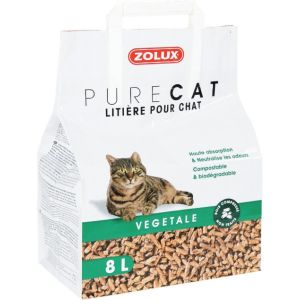 Litière-PureCat-Vegetale-Naturelle-8L