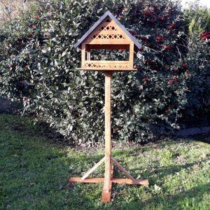 Maison à oiseaux Grange sur pied à construire bois Epicéa FSC