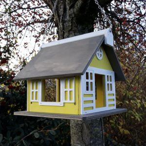 Maison à oiseaux Tradition à suspendre bois FSC
