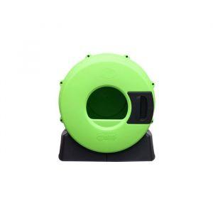 Maison-de-toilette-Litter-Spinner-Vert