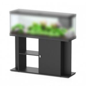 Meuble-aquarium-Style-LED-noir-120cm-aquarium-vendu-séparément