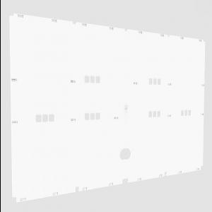 Plaque arrière en plastique pour cages d'élevage oiseaux 120 cm - 2GR