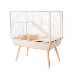 Cage-Neo-Muki-Grands-Rongeurs-Beige