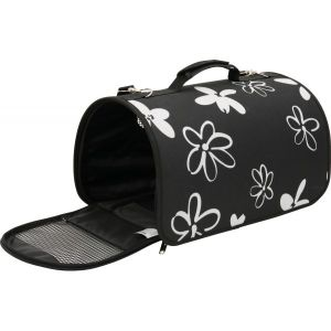 Panier-de-transport-Flower-Large-Noir