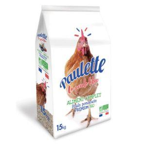 Mélange poule multi-céréales Bonne Ponte Bio 15 kg - Paulette