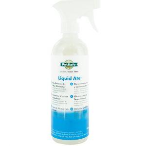 Spray éliminateur d'odeur détachant et répulsif Liquid Ate 475ML - PetSafe