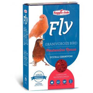 Patée-Canaris-Fly-Hobby-Pastoncino-Rosso-1x300g