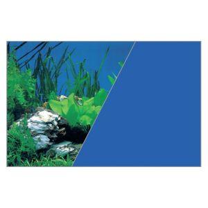 Rouleau-fond-décor---Bleu/Plantes-76cm-x-15-mètres---Zolux