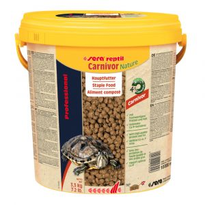 Granulés reptile carnivore Professional Carnivor Nature 10L - Sera