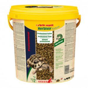Granulés reptile herbivore Professional Herbivor Nature 10L - Sera