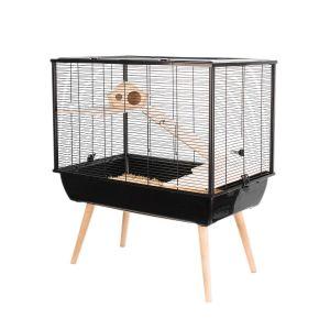 Cage-Neo-Silta-Petits-Rongeurs-Noir-