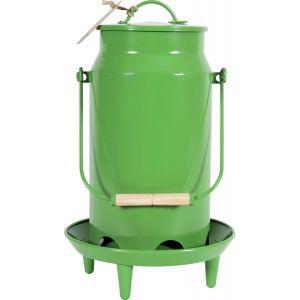Mangeoire-Metal-Broc-Vert