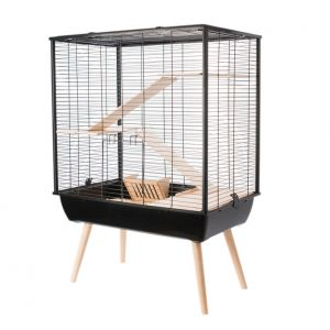Cage-Neo-Cosy-Grands-Rongeurs-Noir