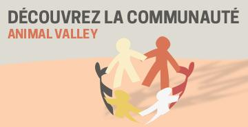 La communauté Animal Valley sur Facebook