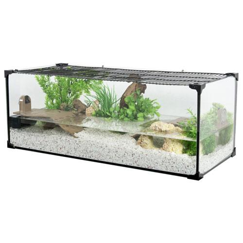 Aquaterrarium Karapas 80 noir - Zolux