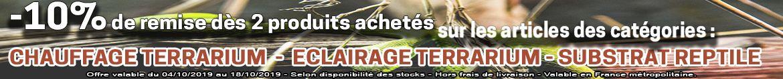 10-pour-cent-de-remise-des-2-produits-achetes-dans-les-categories-Reptile-eclairage terrarium-chauffage terrarium-substrat reptile