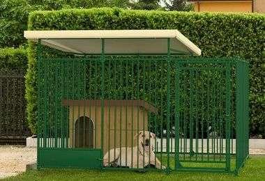 Enclos, niche et chenil pour chien