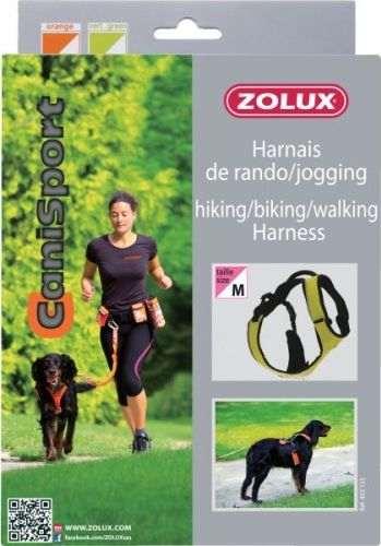 Harnais pour chien Zolux pour randonnée, vélo, marche, jogging