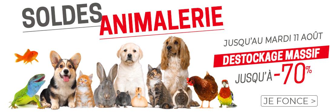 Soldes animalerie jusqu'à -70% sur Animal Valley