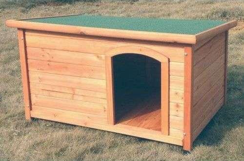 Niches pour chien Natura avec toit plat